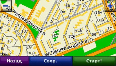 Отображение контуров домов