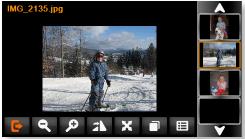 Просмотр фотографий в GPS навигаторе Visicom A1050