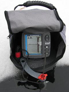 зимний набор - Эхолот Lowrance X52, сумка
