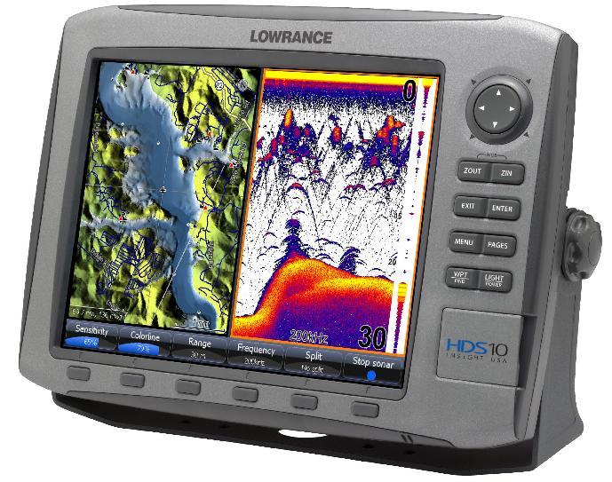 Эхолот Lowrance HDS-10